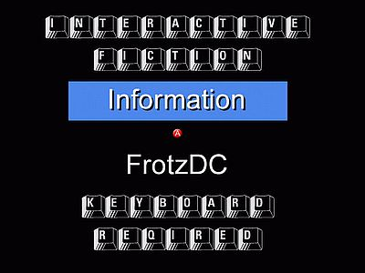 FrotzDC Screen 1