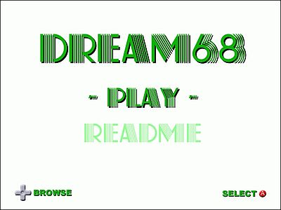 Dream68 Screen 1