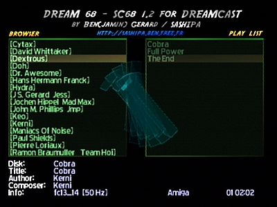 Dream68 Screen 3