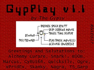 GypPlay 1.1 Screen