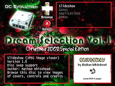 Dream Selection Screen 3