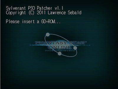 PSO Patcher Screen 2