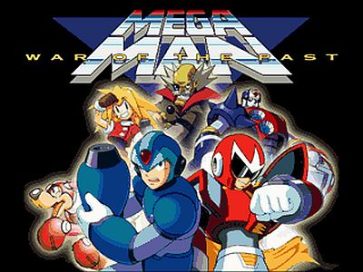 Megaman War of the Past Screen 1