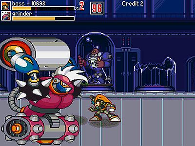 Megaman War of the Past Screen 2