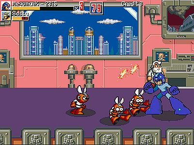 Megaman War of the Past Screen 3