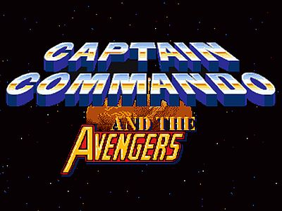 Captain Commando Screen 1
