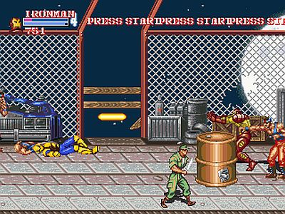 Captain Commando Screen 4