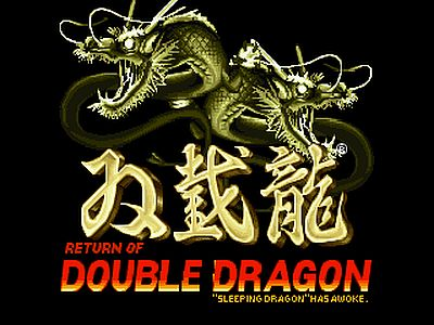 Return of Double Dragon Screen 1