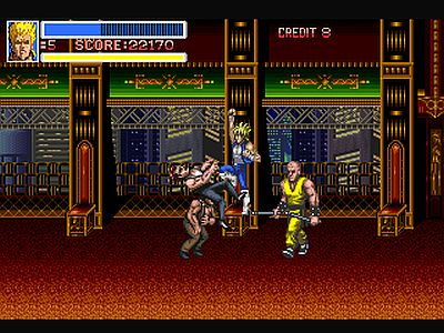 Return of Double Dragon Screen 3