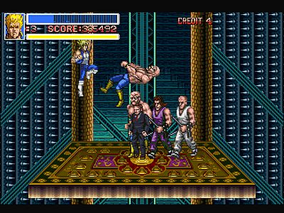 Return of Double Dragon Screen 4