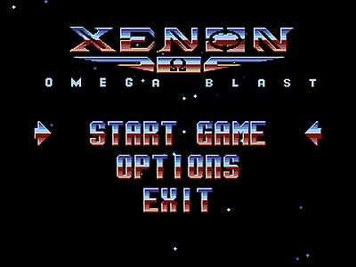 Xenon Omega Blast screen 1