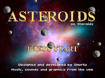 Asteroids on Steroids screen 1
