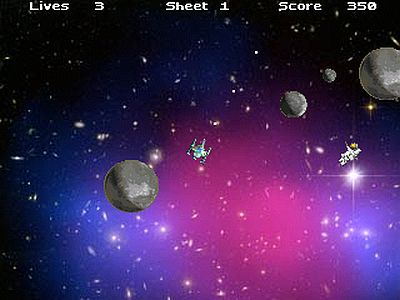 Asteroids on Steroids screen 3