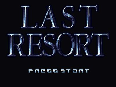 Last Resort screen 1